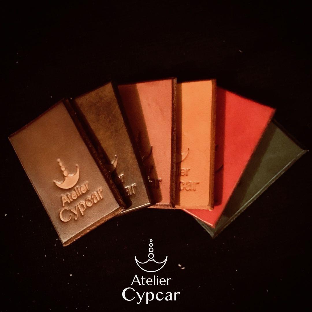 Nuancier de couleurs Atelier Cypcar